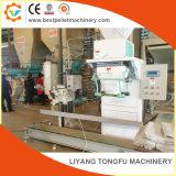 Machine automatique d'emballage avec échelle d'ensachage
