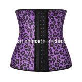 Corsé del látex de las mujeres del leopardo