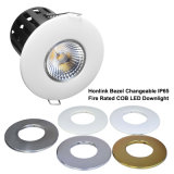 90mins 화재를 가진 10W Dimmable IP65 LED Downlight는 평가했다
