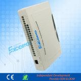 Sistema telefónico expansible 4 Líneas Co 24 Extensiones PBX Cp832-424
