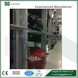 Gg les poussoirs en acier de 3 à 4 couches empileur hydraulique Système de stationnement de voiture
