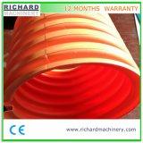 PE/HDPE y PVC Tubo ondulado de doble pared de la máquina de extrusión