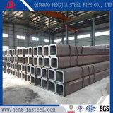 Carbonio quadrato temprato il nero del tubo d'acciaio