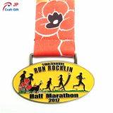 De aangepaste Medaille van het Metaal Triathlon
