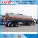 40cbm 40000L 3 de Semi Aanhangwagen van de Tanker van de Brandstof van de Legering van het Aluminium van de As