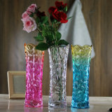 De Vaas van het Glas van de kleur voor de Decoratie van het Huis