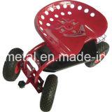 360 Degree Swivel Seat와 Tray를 가진 회전 정원 Cart