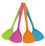 Силикон Turner Non- ручки Kitchenware качества еды теплостойкmNs