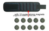 De regelbare Riem van de Pols met Super Sterke Magneten en de Magnetische Manchet van de Haak
