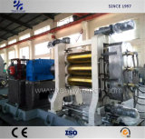 Macchina di gomma del calendario dei tre rulli per produzione di rivestimento di gomma professionale