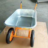 쟁반 건축 외바퀴 손수레가 좋은 품질에 의하여 직류 전기를 통한다
