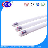 Ce tube LED approuvés 1200mm 18W T8 Tube LED 86-265V/AC Tube en verre LED
