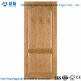 Precios baratos de MDF y HDF Piel de la puerta del molde con papel de melamina
