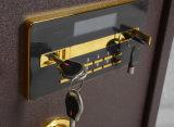 Casella d'acciaio mezza del giacimento di cassaforte del Ministero degli Interni con la serratura elettronica