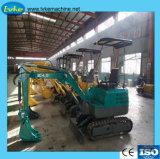 0.8Ton chinois à bas prix de la fabrication d'excavatrice 2.2Ton Mini