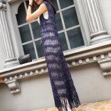 La main Crochet Vintage couvrir jusqu'Fringe vêtements de plage robe de plage