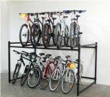 炭素鋼の倍のデッキの大きい容量のバイクの陳列だな