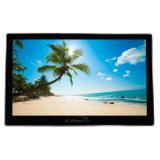 21.5 Androïde van de Duim Touchscreen LCD die van de leiden- Reclame Media Player adverteren