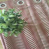 2018 100% pozzi del tessuto della tenda del jacquard di restringimento del poliestere dentro coprono