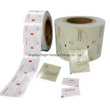 La medicina al papel de aluminio para las toallitas húmedas