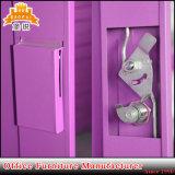 多彩な振動ドアの大きい金属のワードローブ