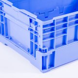 Recipiente de dobramento plástico padrão de QS com qualidade do produto comestível