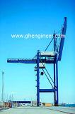 Descarregador Ghe-1200 da embarcação usado no molhe e na doca