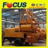 Pompe Jbs40-Js750 concrète avec la machine de construction de mélangeur