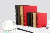 Gewundenes Notebook/PU Schule-Tagebuch/Papierbüro-Notizbuch