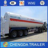 3 de Semi Aanhangwagen van de Tanker van het LNG van LPG van de Stookolie van assen