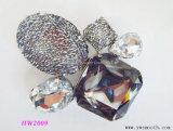 Accessori del diamante della decorazione del Rhinestone di modo per l'inarcamento dei pattini delle donne