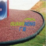 Umweltfreundlicher Gleitschutzgummirand-/Spielplatz-Gummifliese-Garten-Gummikostgänger, Sport-Gummifliesen,
