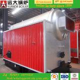 Il legno/carbone di Dzh di marca di Yuanda ha infornato il manuale gestisce la caldaia a vapore mobile della griglia