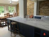 Laje branca artificial de quartzo para a parte superior da bancada/cozinha