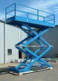 Voiture hydraulique de type ciseaux pour la vente de table élévatrice