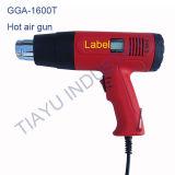 1600 Вт с поддержкой горячего воздуха фена двойной температуры жидкости для снятия краски DIY диагностическим прибором + 4 Форсунки
