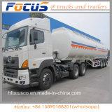 Essieux triples 42, camion-citerne en aluminium de mémoire de combustible dérivé du pétrole de 000 gallons