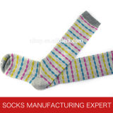 Baumwolle 100% der Frau Coloful Gefäß-Socke (UBM1053)