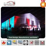 Tienda de aluminio de gran toldo para el Concierto de Música Popular