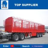 タイタンの手段-トラックのための半3つの車軸側面の貨物トレーラー