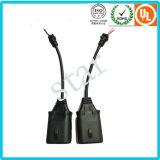 9004/9005/9007 водоустойчивых проводок провода разъема света прессформы с пробкой PVC