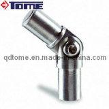 Conetor ajustável da inserção do aço inoxidável do corrimão