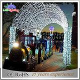 Des Weihnachtslicht-LED für Hotel anpassen Licht-Bogen-Lichter