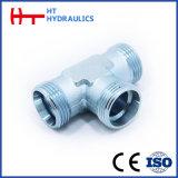 Adaptateur hydraulique mâle métrique de boyau de pouce 1/4'-2'(AQ. AQ-RN)