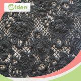 美しいヒナギクパターン刺繍のレースの化学レースファブリック