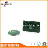 Tag Epoxy sem contato de 13.56MHz RFID com tamanho e logotipo personalizados