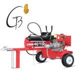 Alimentación gasolina certificado CE Venta caliente máquina divisora de madera