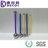 4PCS в инструмент Fondant шарика металла формы шарика металла комплекта
