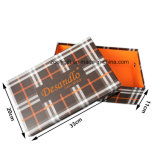 Подгоняйте коробки упаковки ботинок печатание логоса бумажные