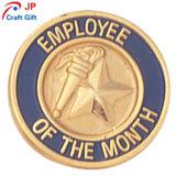 De alta calidad personalizado Empleado del Mes de prueba redonda Coin